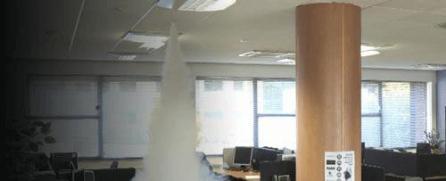 Mistmachine op uw kantoor